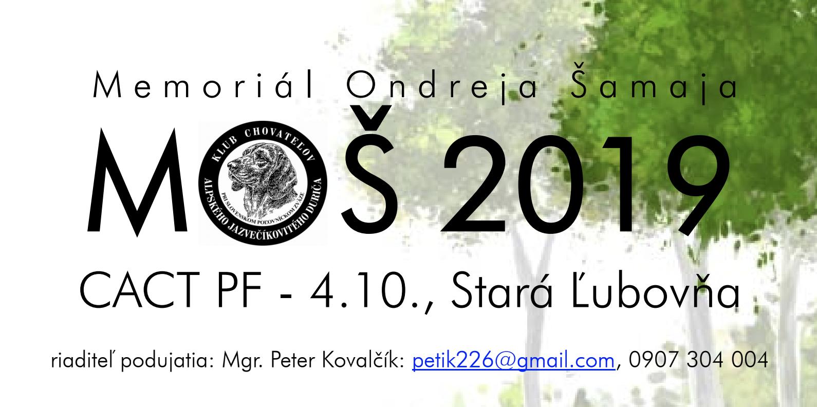 Read more about the article Memorial Ondreja  Šamaja